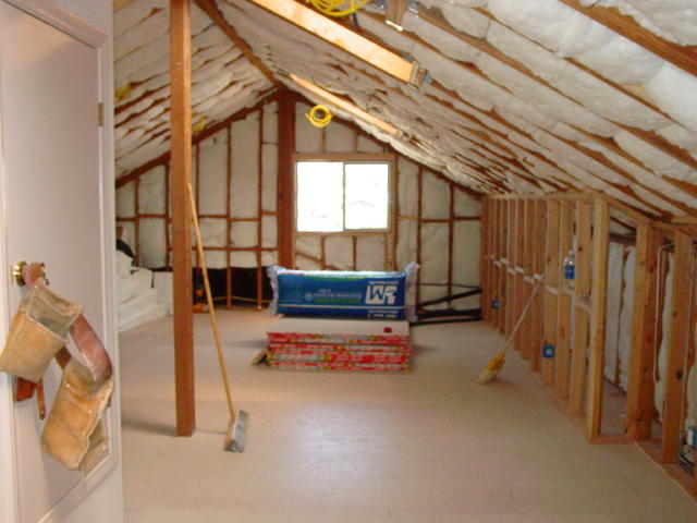 attic insulation view 1