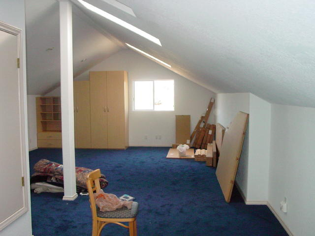 attic, finished, view 1